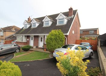 Thumbnail 2 bedroom semi-detached house for sale in Stratford Drive, Bangor