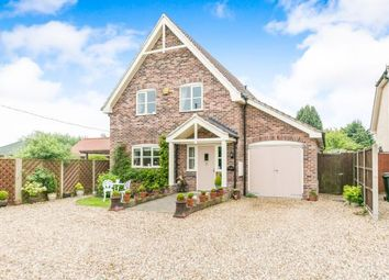 Thumbnail 3 bed detached house for sale in Coney Weston, Bury St. Edmunds, Suffolk