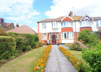 Thumbnail 3 bed semi-detached house for sale in Watling Street, Rochester, Kent