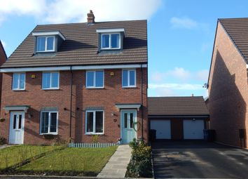 Thumbnail 3 bed semi-detached house for sale in Rushton Road, Burntwood