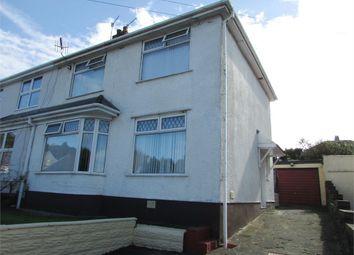 Thumbnail 3 bedroom semi-detached house for sale in Cimla Crescent, Cimla, Neath, West Glamorgan
