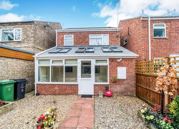 Thumbnail 1 bed terraced house for sale in Masefield Walk, Thetford