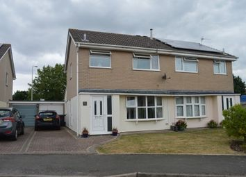 Thumbnail 3 bed semi-detached house for sale in Landseer Close, Worle, Weston-Super-Mare