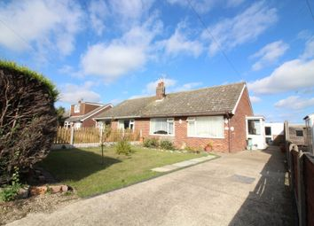 Thumbnail 2 bed semi-detached bungalow for sale in Heather Avenue, Scratby, Great Yarmouth