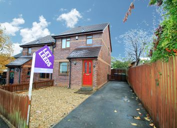Thumbnail 3 bed semi-detached house to rent in Coleridge Lane, Pudsey, Leeds