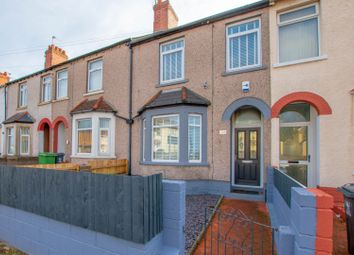 Thumbnail 3 bed terraced house for sale in Newport Road, Cardiff