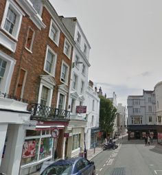 Thumbnail 1 bed flat to rent in East Street, Brighton