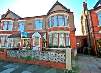 Thumbnail 4 bedroom semi-detached house for sale in Coronation Drive, Crosby, Liverpool, Merseyside