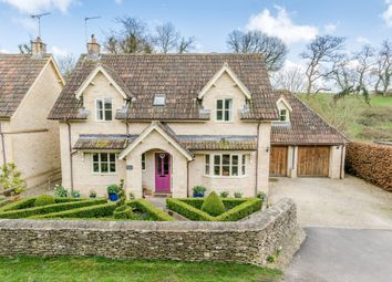 Thumbnail 4 bed detached house for sale in Brook End, Luckington, Chippenham