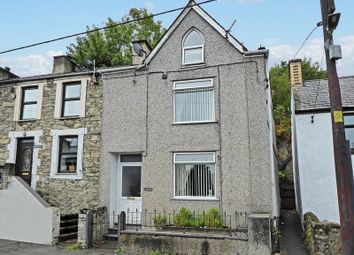 Thumbnail 3 bed terraced house for sale in Cwm-Y-Glo, Caernarfon