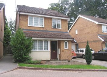 Thumbnail 3 bed detached house to rent in Wynne Gardens, Church Crookham, Fleet