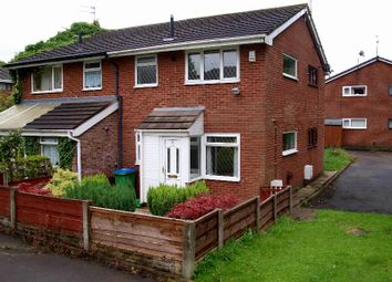 Thumbnail 1 bed flat to rent in Foxglove Court, Shawclough