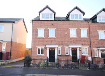 Thumbnail 3 bed town house for sale in Croft House Way, Bolsover, Chesterfield