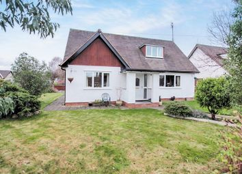 Thumbnail 4 bed detached bungalow for sale in Roe Parc, St. Asaph