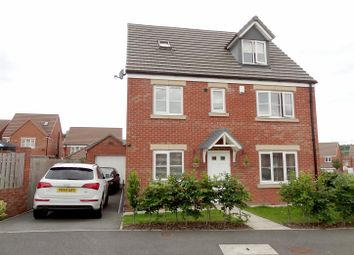 Thumbnail 5 bedroom detached house for sale in The Rowans, Robin Hood, Wakefield