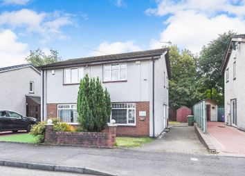 Thumbnail 2 bed semi-detached house for sale in Sandyhills Drive, Sandyhills, Glasgow