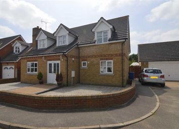 Thumbnail 4 bed detached house for sale in Longley Mews, Orsett Heath, Essex