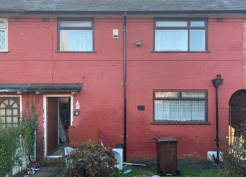 Thumbnail 3 bedroom terraced house for sale in Honister Road, Moston