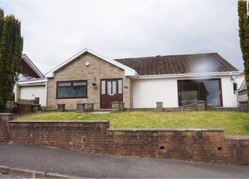 Thumbnail 2 bed detached bungalow for sale in Gwaunfarren Close, Merthyr Tydfil