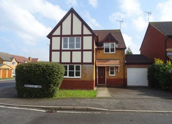 Thumbnail 4 bed detached house to rent in Newstead Close, Binley
