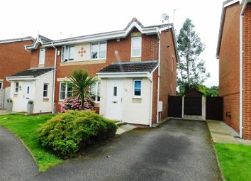 Thumbnail 3 bed semi-detached house to rent in Newsham Road, Cale Green, Stockport