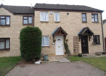 Thumbnail 2 bed terraced house to rent in Manor Road, Witney, Oxon