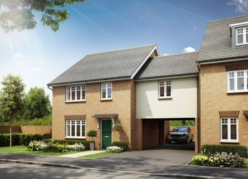 "Thumbnail 4 bed end terrace house for sale in ""Milfield"" at Southern Cross, Wixams, Bedford"