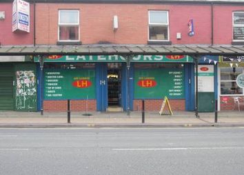 Thumbnail Retail premises for sale in Stockport Road, Levenshulme, Manchester