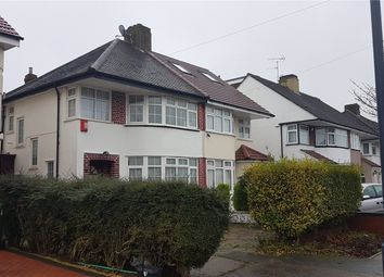 Thumbnail 3 bed semi-detached house to rent in Felbridge Avenue, Stanmore, Greater London