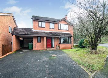 Thumbnail 4 bed detached house for sale in Summerhouse Close, Redditch, Worcestershire, Callow Hill