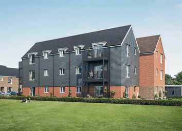 Thumbnail 2 bed flat for sale in Keepers Green, Chichester, West Sussex