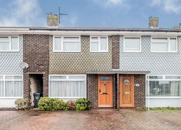 Thumbnail 3 bed terraced house for sale in Garden Close, Sompting, Lancing