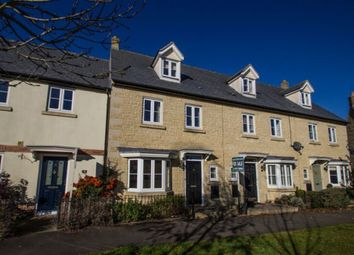Thumbnail 4 bed town house for sale in The Lawns, Carterton