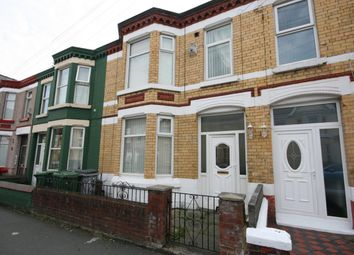 Thumbnail 3 bed terraced house for sale in Kenilworth Road, Wallasey