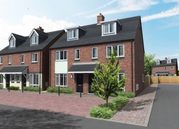 Thumbnail 4 bed town house for sale in Wood Court, Wood Street, Burton-On-Trent