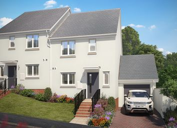 """Thumbnail 3 bed semi-detached house for sale in """"The Witley"""" at Vicarage Hill, Kingsteignton, Newton Abbot"""