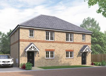 "Thumbnail 3 bed semi-detached house for sale in ""The Heybridge"" at Wellfield Road North, Wingate"