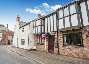 Thumbnail 2 bed terraced house for sale in West Street, West Butterwick, Scunthorpe