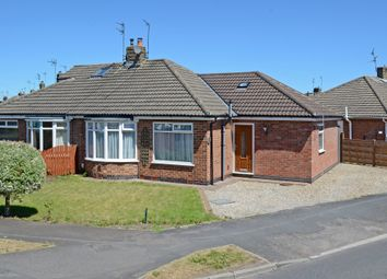 Thumbnail 3 bed semi-detached bungalow for sale in Brockfield Park Drive, Huntington, York