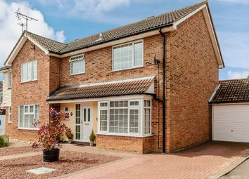 Thumbnail 3 bedroom semi-detached house for sale in Winding Piece, Capel St Mary, Ipswich