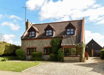 Thumbnail 4 bedroom detached house for sale in Walsingham Road, East Barsham, Fakenham