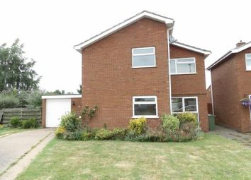 Thumbnail 4 bed detached house for sale in Woburn Close, Loughborough, Leicestershire