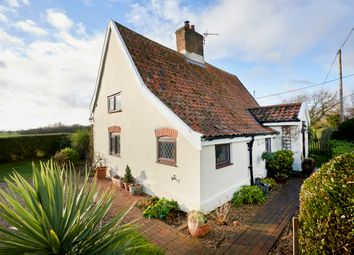 Thumbnail 2 bed cottage for sale in Manse Lane, Cratfield, Halesworth