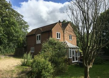 Thumbnail 4 bed detached house to rent in Church Lane, Old Nursling, Southampton