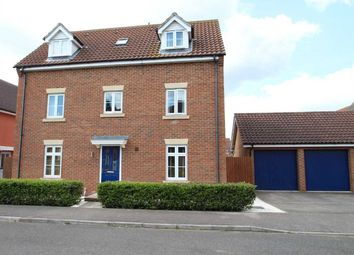 Thumbnail 5 bed detached house for sale in Turing Court, Grange Farm, Kesgrave, Ipswich