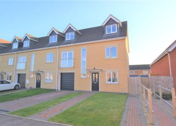 Thumbnail 4 bed end terrace house for sale in Blyton Road, Skegness, Lincolnshire