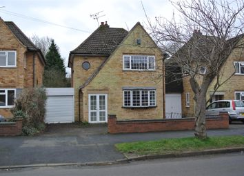 Thumbnail 3 bed detached house for sale in Waldron Drive, Oadby, Leicester
