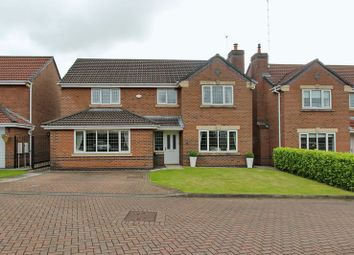 Thumbnail 4 bed detached house for sale in Castle Hey Close, Unsworth, Bury
