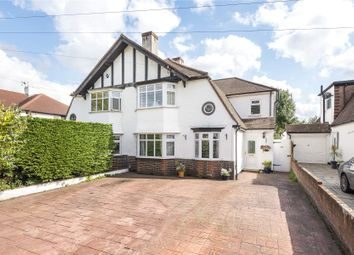 Thumbnail 4 bed semi-detached house for sale in Frankswood Avenue, Petts Wood, Orpington