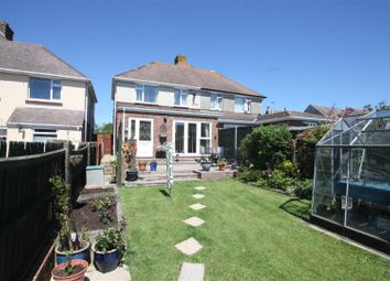 Thumbnail 3 bed semi-detached house for sale in Chickerell Road, Chickerell, Weymouth